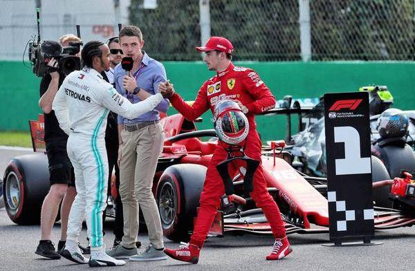 Leclerc 'vereerd' na uitspraken Hamilton