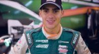 Afbeelding: Van Kalmthout heeft grote doelen: ''Ik wil hetzelfde bereiken als Ayrton Senna''