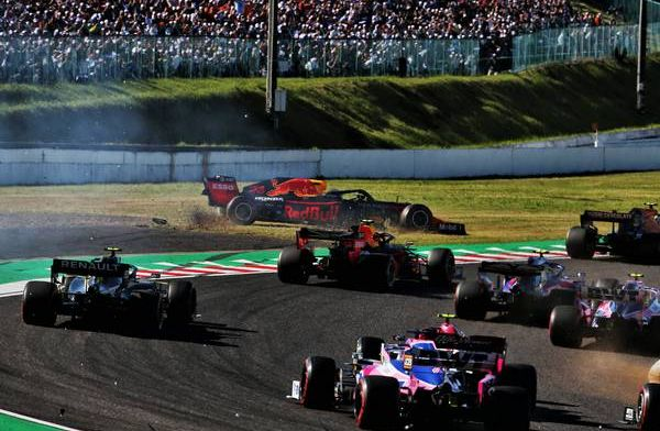 ''Onzin dat de crash in Japan karma zou zijn voor Max Verstappen''