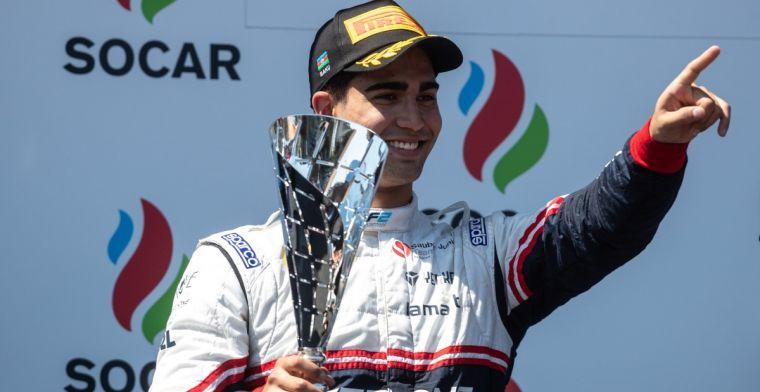 Formule 2-coureur Correa kan weer lachen dankzij bezoek Albon