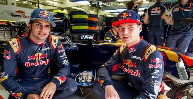 Sainz looks back to 2015: Verstappen made me a better driver
