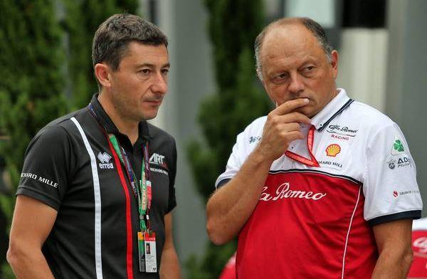 "Alfa Romeo has ""no need to panic"" says Vasseur"