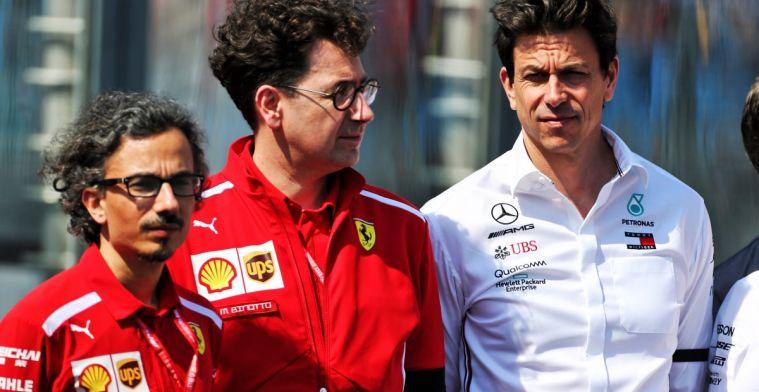 Van de Grint noemt beschuldigingen Wolff aan adres van Ferrari kinderachtig