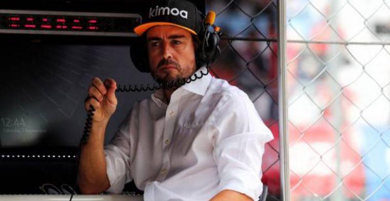 F1 return getting harder for Fernando Alonso