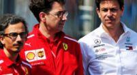 """Afbeelding: Van de Grint noemt beschuldigingen Wolff aan adres van Ferrari """"kinderachtig"""""""