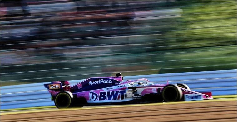 Racing Point verwacht dit weekend om de punten te kunnen vechten