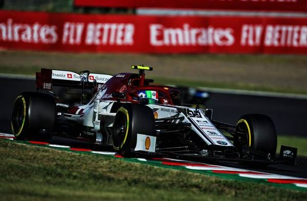 Giovinazzi not thrown off by pressure: It's always been like that