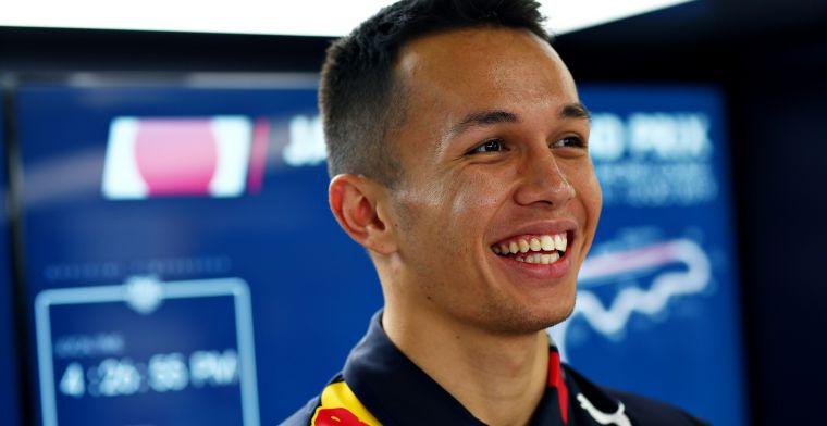 Pole en P1 voor Red Bull in Mexico geven Albon hoop: Dat is altijd positief