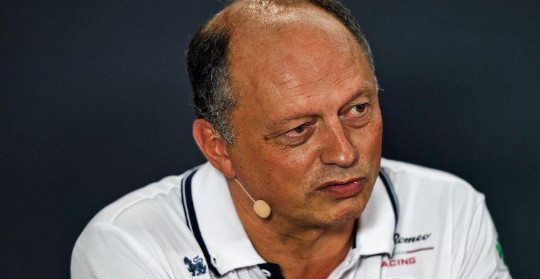 Vasseur: De belangrijkste race is altijd de zojuist gereden GP, of de aankomende