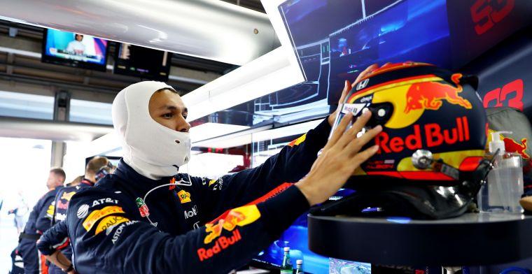 Keuze van Red Bull Racing houdt Albon niet bezig: Mijn aanpak verandert niet