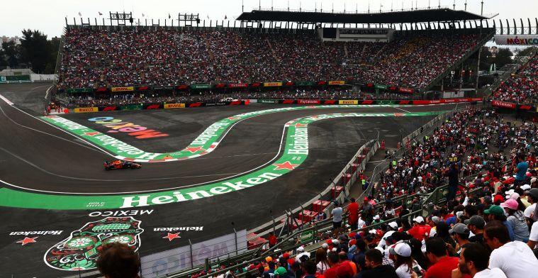 Opmerkelijk: FIA spreekt van derde DRS-zone voor circuit Mexico na bocht elf