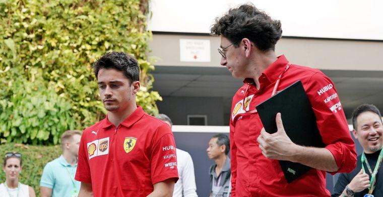 Leclerc onder de indruk van teambaas Binotto: Hij past zijn kritiek aan