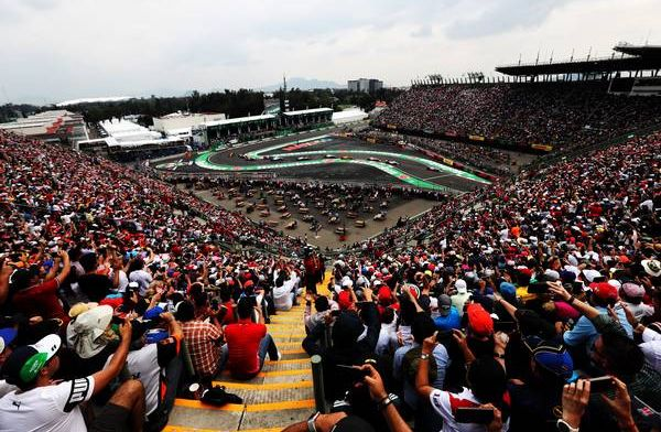 What time does qualifying start for the Mexico Grand Prix?