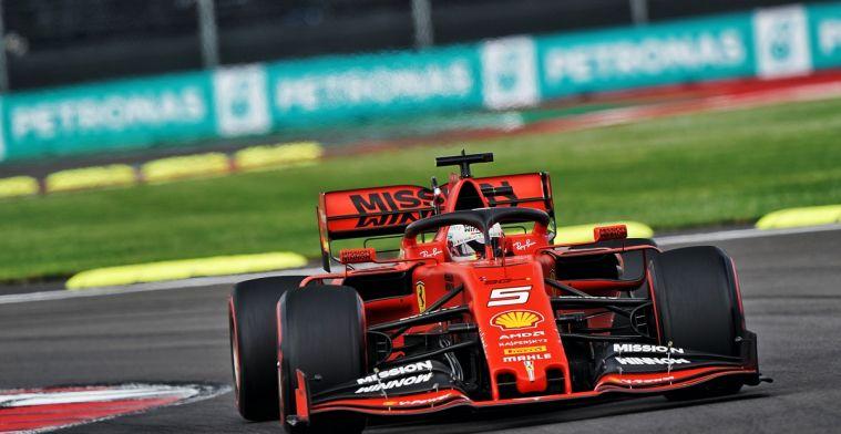 Vettel gaat voorbij Verstappen in coureurskampioenschap na GP Mexico