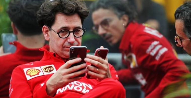 Binotto admits Mercedes got it right and maybe Ferrari should've taken more risks