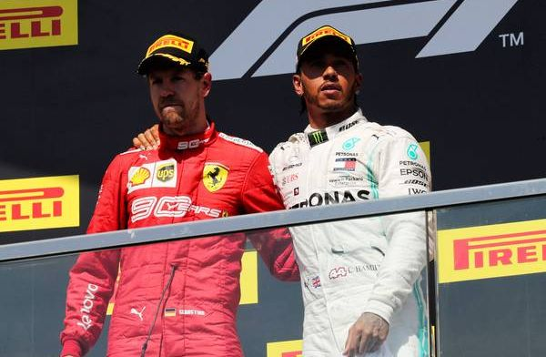 Vettel admits Hamilton is one of the best ever