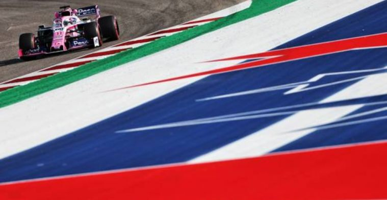 Perez to start from the pitlane at US Grand Prix