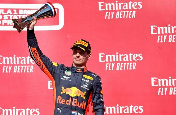 Verstappen na podium GPblog Driver of the Day in de Verenigde Staten