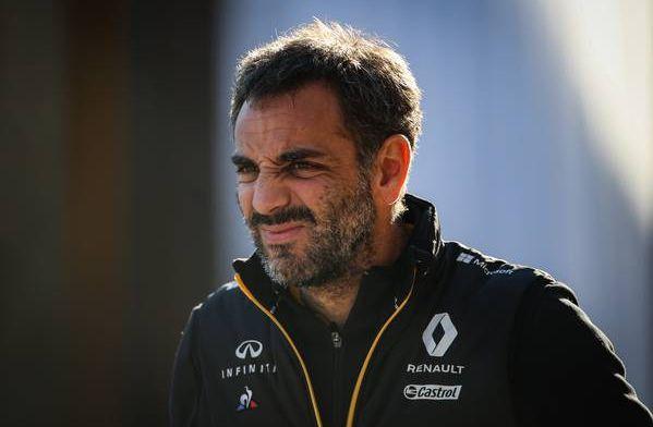 Abiteboul: De strategie voor Ricciardo was perfect