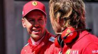 Image: What Sebastian Vettel said to Lewis Hamilton after the race