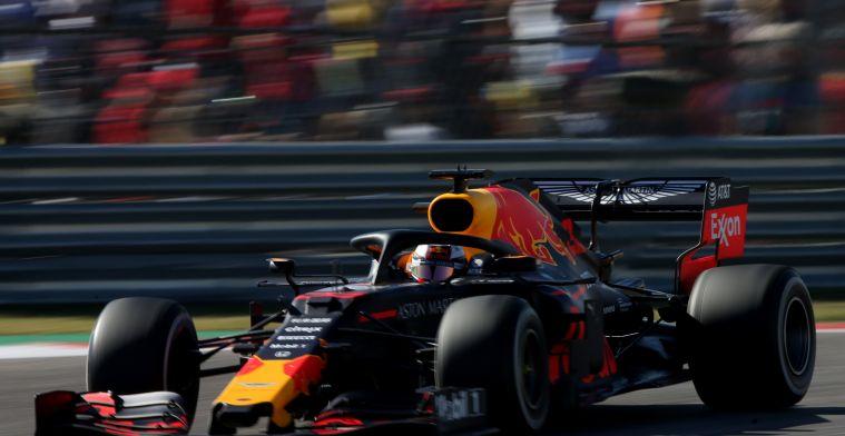 Red Bull vermoedt oorzaak gescheurde achtervleugel Verstappen te weten