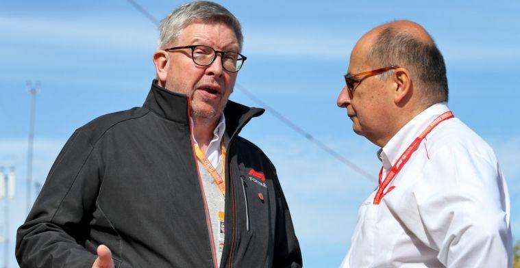 Brawn wil niet speculeren: 'Snelheidsverlies bij Ferrari moeilijk te verklaren'