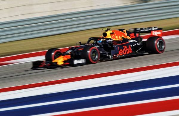 Alex Albon's recovery in United States labelled phenomenal by Red Bull Racing