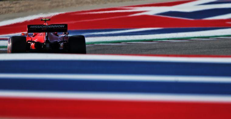 Ferrari ontkent aanpassing aan motor: Maar waren wel langzamer op rechte stukken