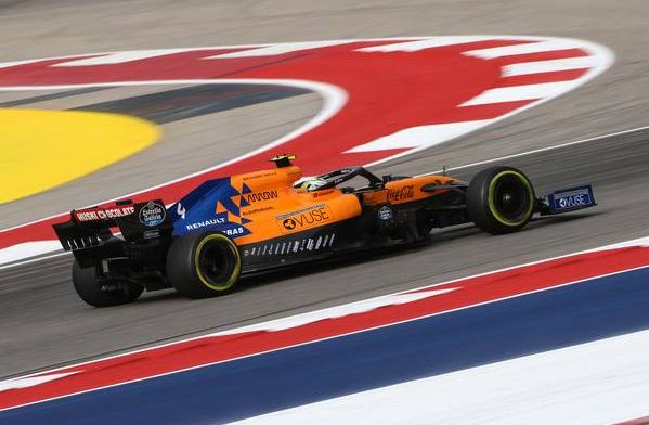 Norris claims McLaren are slower than Renault in races!