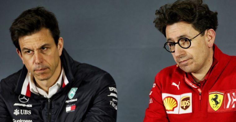 Ferrari wil mogelijk 'Toto Wolff clausule' voor toekomstige benoemingen