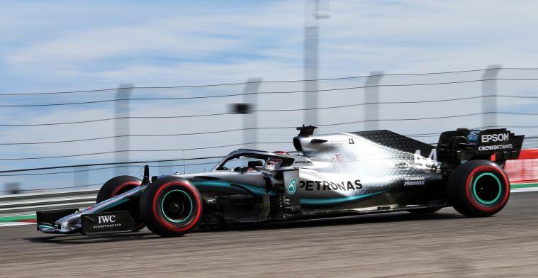 Mercedes pakt titel na titel, uitgaven blijven nagenoeg gelijk