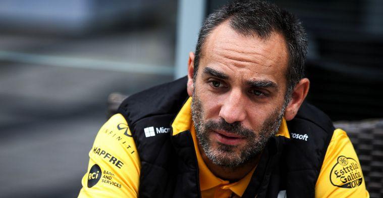 Geflopte upgrade in weekend GP Frankrijk de druppel voor Renault volgens Abiteboul