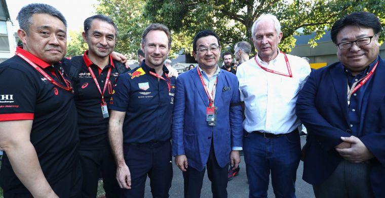 CEO Honda spreekt zich uit: Willen met Red Bull volgend jaar titel pakken