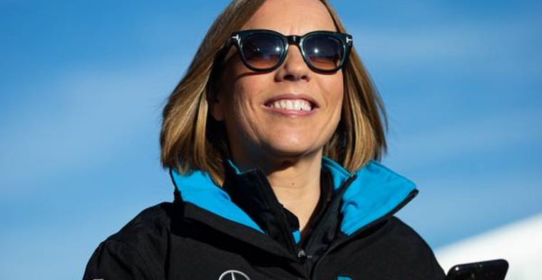 Claire Williams refusing to give up after horrifically challenging season