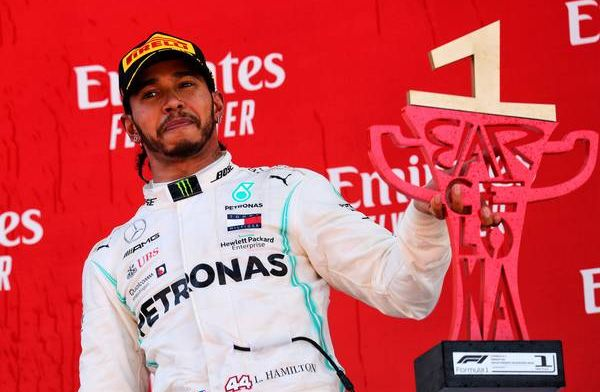 Hamilton to keep pushing in 2019: I'm just too competitive