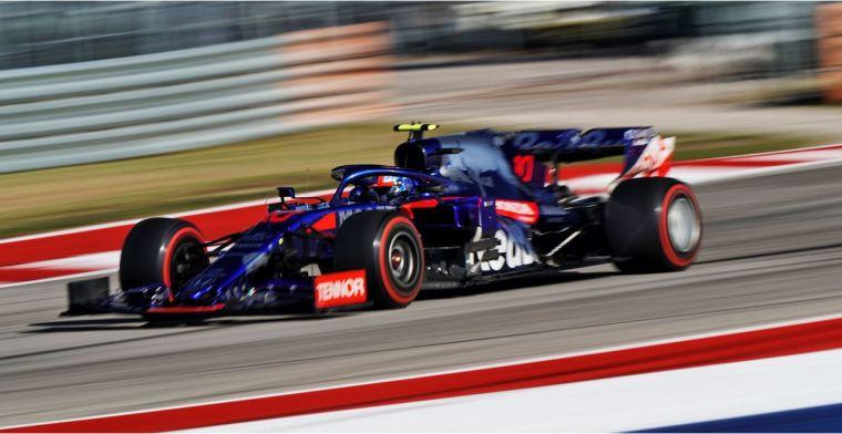 Gasly: Ik ben erg blij dat ik bij Toro Rosso kan blijven in 2020