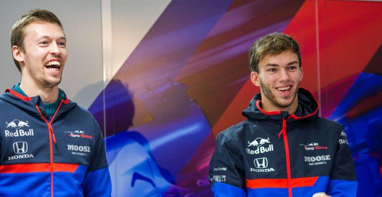 Toro Rosso bevestigt lineup 2020: Gasly en Kvyat blijven aan boord!