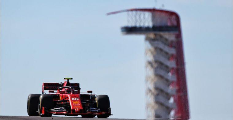 Leclerc krijgt in Brazilië nieuwe motor en incasseert gridstraf