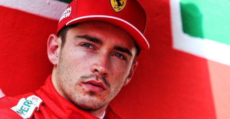 Leclerc: Deze GP draagt altijd bij aan het herinneren van zijn nalatenschap