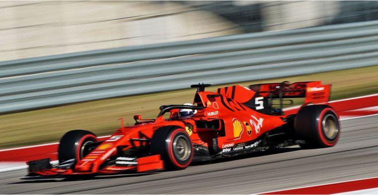 Ferrari ziet Mercedes als 'benchmark' voor volgend jaar