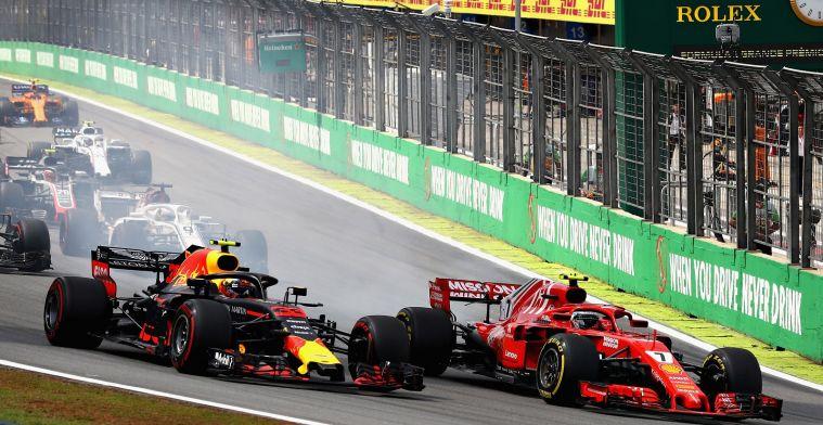 Ferrari op jacht naar verloren snelheid in Brazilië, Red Bull wil inlopen