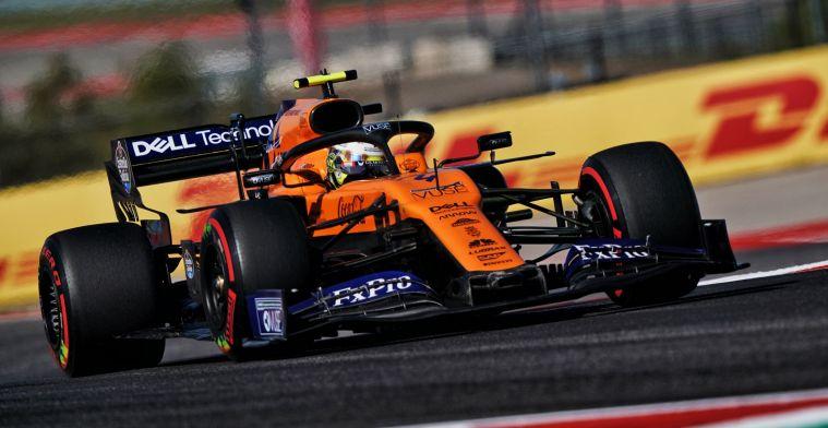 Brown legt vinger op zere plek McLaren: Dat is in 2019 onze zwakke plek geweest