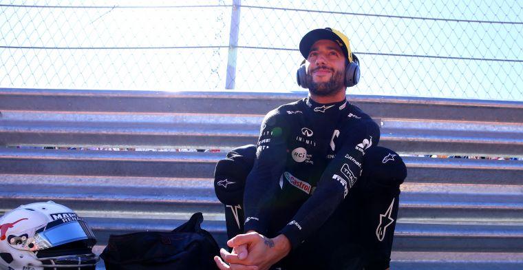 Ricciardo: Ga niet naakt rondrennen na een P4 op Monza