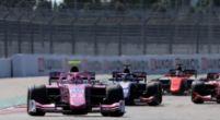 Afbeelding:  Foto van Formule 2-auto met nieuwe 18 inch velgen