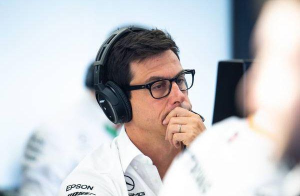 """Wolff: """"Voordeel van Ferrari geregeld richting 50PK dit seizoen"""""""