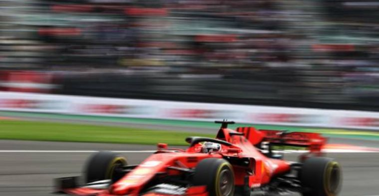 Vettel: We didn't lose any power on the engine