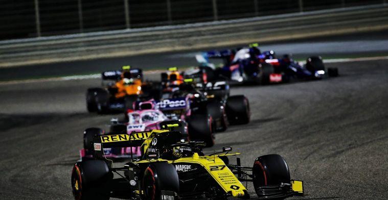 Hülkenberg: Ziet ernaar uit dat het een jaar zonder racen wordt