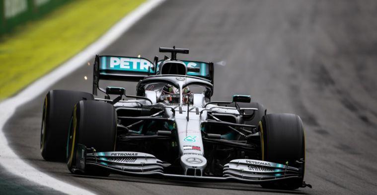 Hamilton twijfelt aan kansen op Interlagos