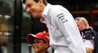 "Image: Toto Wolff says Ferrari have an advantage of ""more than fifty horsepower"""