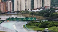 Afbeelding: Albon crasht, Verstappen glijdt in natte en listige VT1 op Interlagos